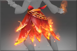 "Lina ""Fire Lotus Belt"""