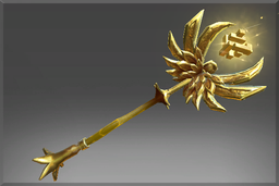 "Rubick ""Golden Staff of Perplex"""